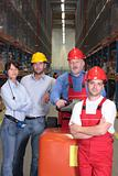 workforce in warehouse