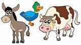 Farm animals collection 3