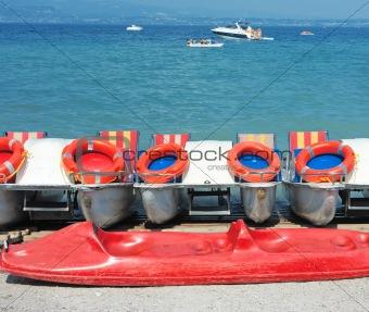 Catamarans in Sirmione