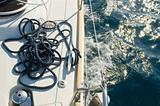 yacht ropes