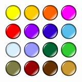 Fun colored buttons
