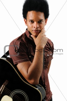 Trendy african musician