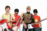 Trendy musicians team