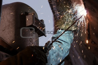 welder up close