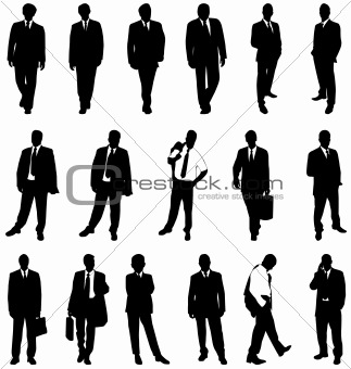 business silhouettes collection