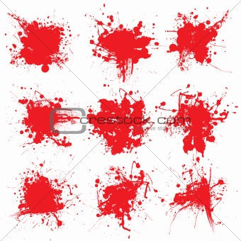 blood splat collect