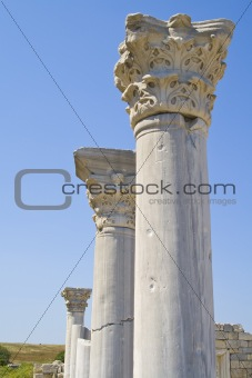Ancient pillars