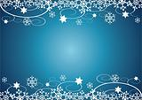 Christmas / New Year's Background (Blue)
