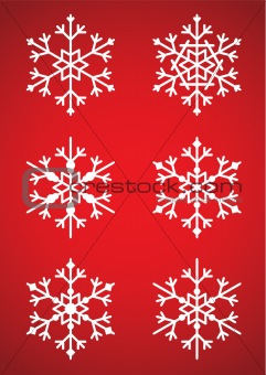 Assortment of Snowflakes
