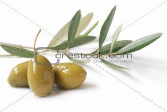 olives close-up
