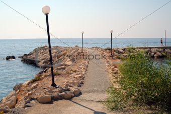 beach road, Limassol, Cyprus