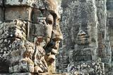 Bayon temple faces, Cambodia