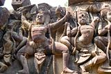 Terrace of Leper King dance statues, Angkor Thom, Cambodia