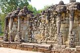 Terrace of Elephants, Angkor Thom, Cambodia