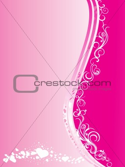 abstract valentine vector illustration