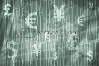 Business Stock Exchange Abstract Background