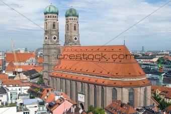 Frauenkirche Cathedral Church in Munich (3)
