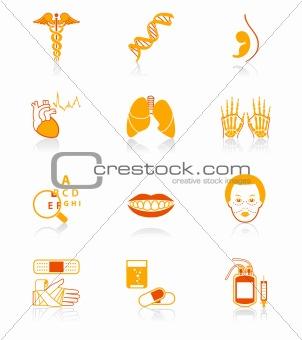 Medicine icons | JUICY series