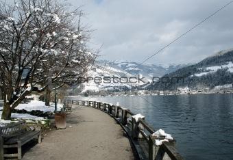 Tranquil Alpine Scene