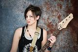 Teenage rocker