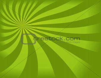Green Swirly Background
