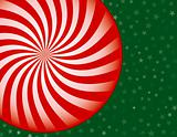 Peppermint Candy Christmas Background