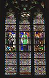 Saint Peter Stained Glass Long St. Patrick's Cathedral New York
