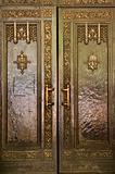Heavy Brass Door Saint Patrick's Cathedral New York City