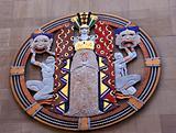 Drama Masks Radio City Music Hall Rockefeller Center New York Ci