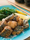 Spiced Fried Mackerel with Lemon