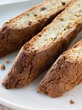 Plate of Biscotti