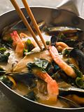 Japanese Seafood and Wakame Seaweed Curry