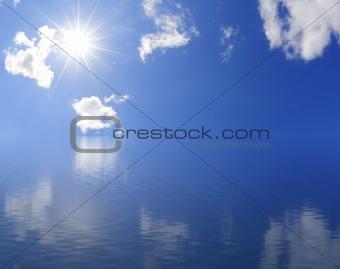 Sunny horizon
