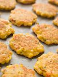 Tray of Sweet corn Fritters
