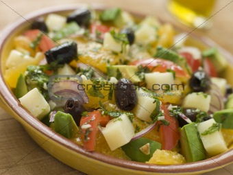 Bowl of Valencian Salad