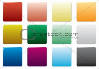 Free colored buttons set.