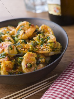 Chili Tiger Prawns