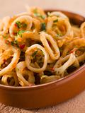 Calameres Frito- Deep Fried Squid Rings