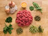 Ingredients for Steak Tartare