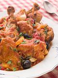 Sauted Chicken Provencale