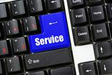 button of service