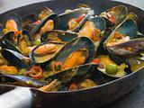Mussels Cooked Bangladeshi Rezala Style