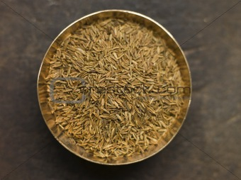 Dish of Cumin Seeds