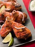 Tandoori Style Baked Chicken Drumsticks