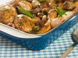 Dish of &#39;Coq au Vin&#39;