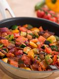 Ratatouille in a Saute Pan