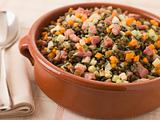 Bowl of Puy Lentils with Lardons