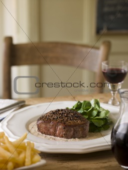 Steak au Poirve