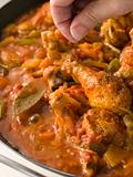 Creole Chicken Louisiana Style Cooking In a Pan