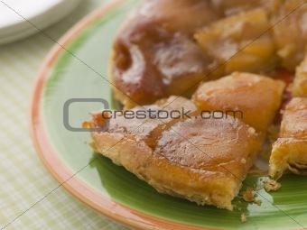 Slice of Tarte Tatin aux Pomme